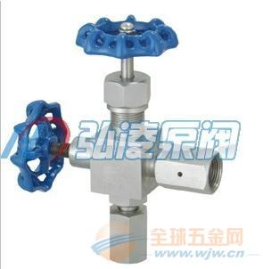 供应J29H压力计用仪表针型阀,不锈钢压力计用仪表针型阀