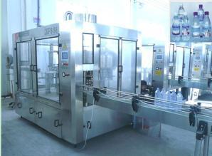 三合一瓶装水自动生产线