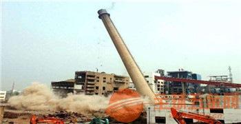 新闻:城阳区70米砼烟囱拆除【股份@有限公司】
