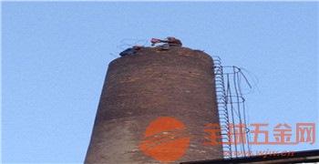 新闻:龙南县40米烟囱拆除!