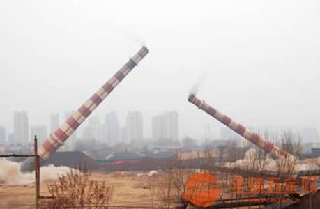 东莞专业拆除锅炉烟囱三A单位