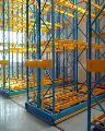 长沙阁楼货架|配套液压升降平台作业
