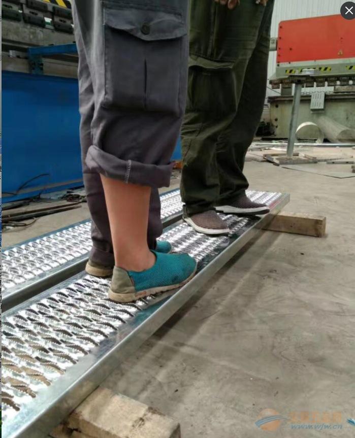 高品质鳄鱼嘴防滑板,鳄鱼嘴脚踏网板