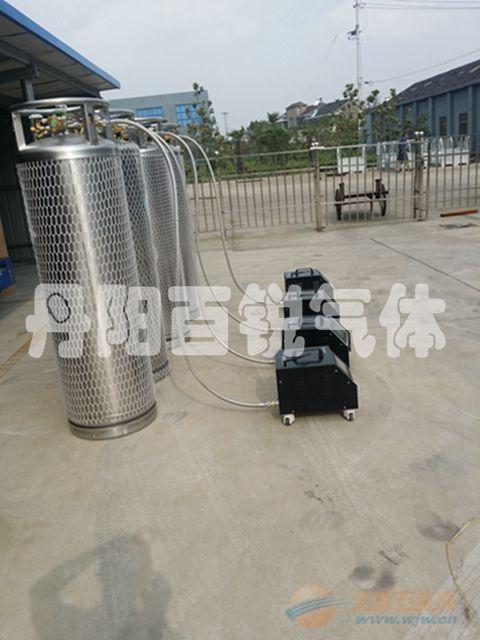 低温绝热气瓶静态蒸发率测试设备操作方法