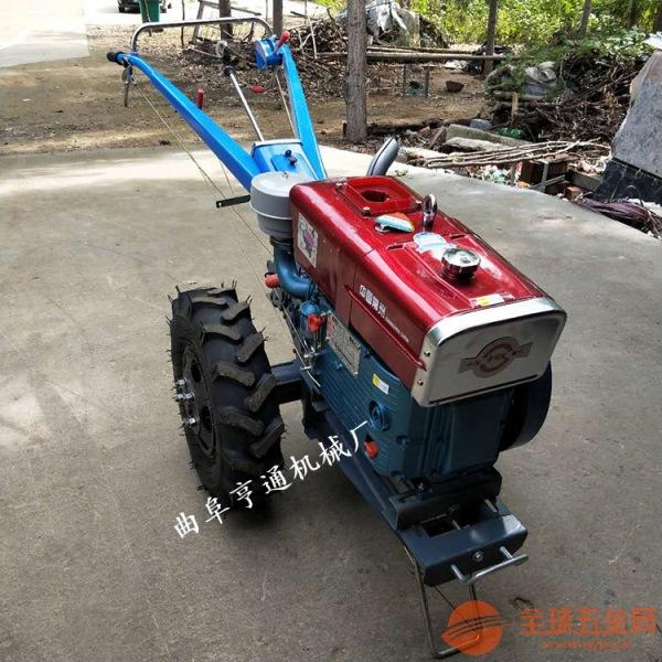 柴油手扶拖拉机 20马力柴油手扶拖拉机 大型手扶拖拉机