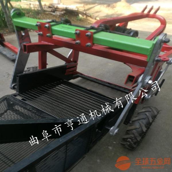 淮阴市薯类收获机 手扶车带动花生收获