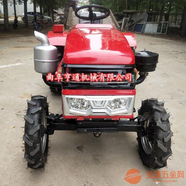 单缸四驱耕田机 优质四轮拖拉机 28马力四轮价格