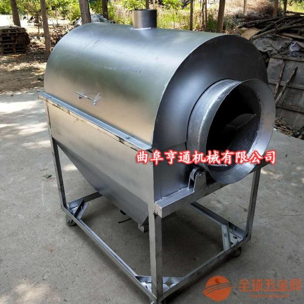 新型炒货机炒货机 煤炭加热炒锅机 多功能花生炒料机参数