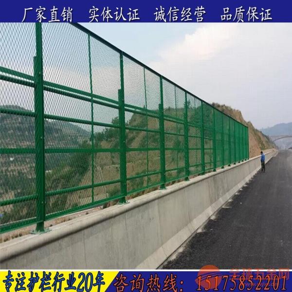 张家口高架桥防抛网 桥梁防护网
