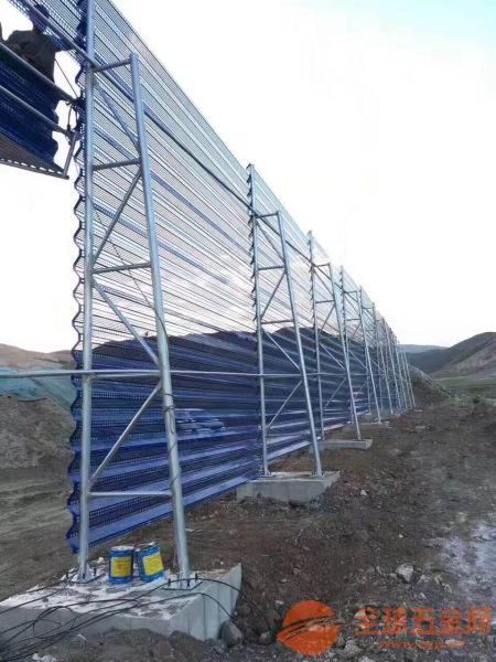 安平厂家直销供应环保防风抑尘网 单峰 双峰 三峰