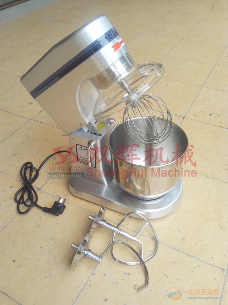 双辉机械JB 7L不锈钢搅拌机 电动和面机 打蛋机