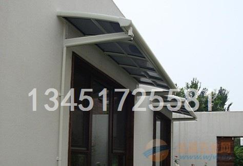 重庆pc塑料板雨棚车棚板每平方米价格