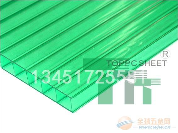 台湾高锋中空8mm阳光板厂家价格直销
