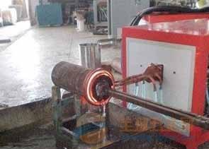 砼泵管内壁 无缝钢管内壁淬火设备