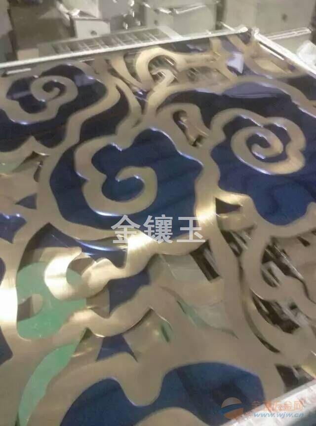 供应不锈钢激光雕刻花板