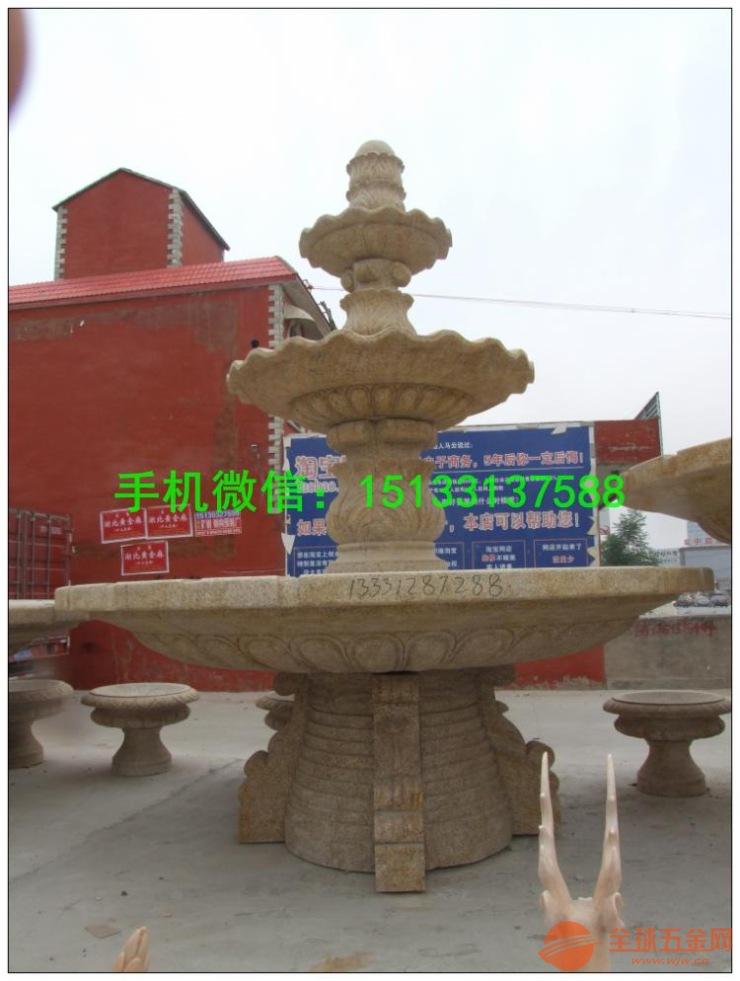 广东石雕喷泉雕塑 东莞喷泉石雕塑厂家