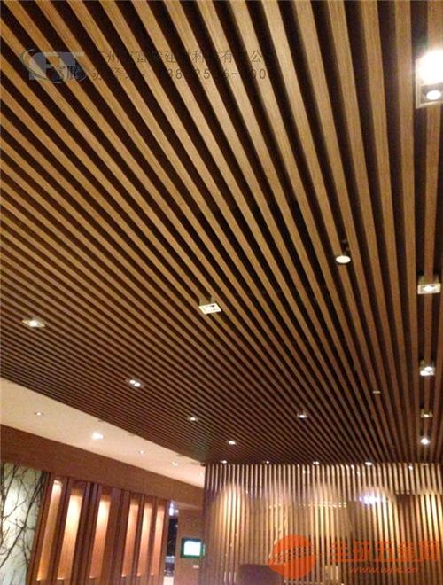 【广东木纹型材铝方管 铝方管造型幕墙】源头品质一手货源