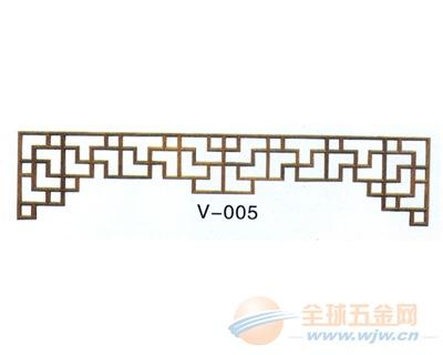 上海铝窗花生产定做