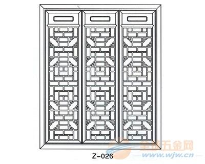 广州墙面铝窗花厂家规格定做