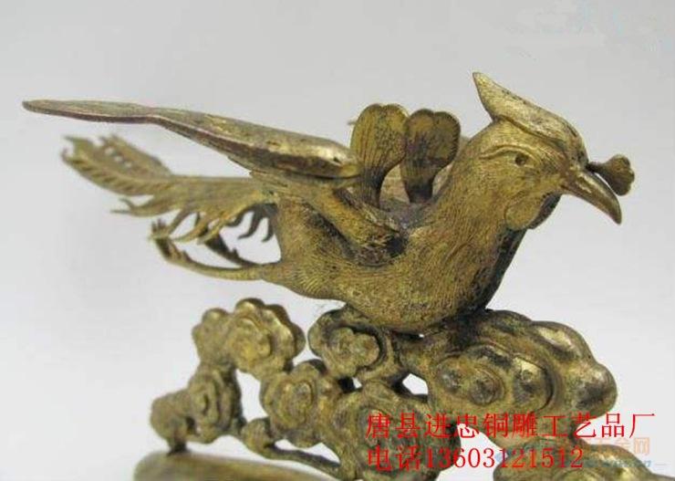 铜雕凤凰制作,铜雕凤凰价格,铜雕凤凰铸造