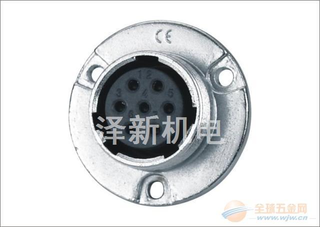 圆形焊接航空插头插座