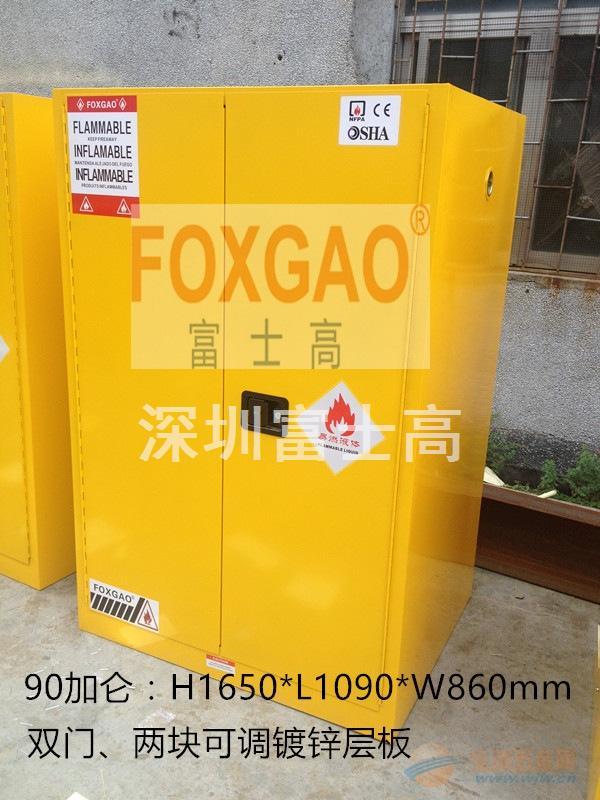 深圳90加仑防爆柜规格