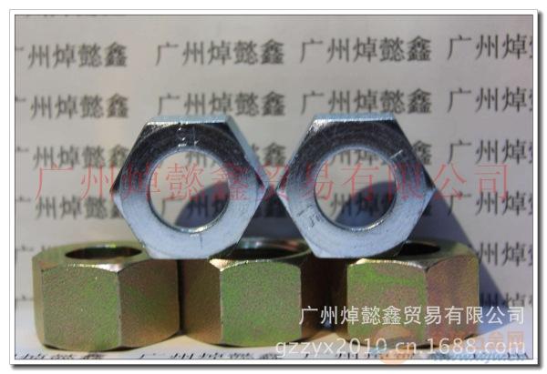 国产螺母碳钢镀白锌NL-30 22L M30*2