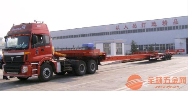 深圳坪山到道孚县17米平板车货车