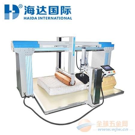 海达 滚筒式床垫检测仪 冲击式床垫检测仪 智能控制 厂家直销