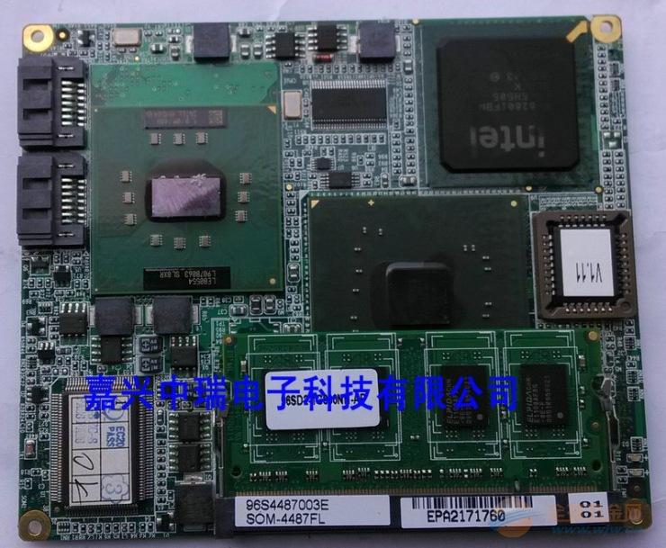 研华SOM-4487嵌入式模块工控主板维修