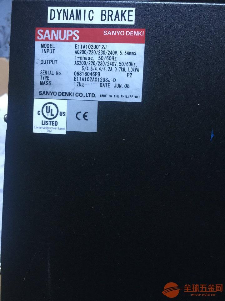 SANUPS E11A102U012J NTC切片机