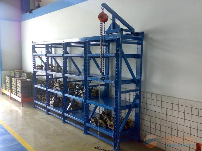 东莞3格4抽模具架、深圳全开式模具架
