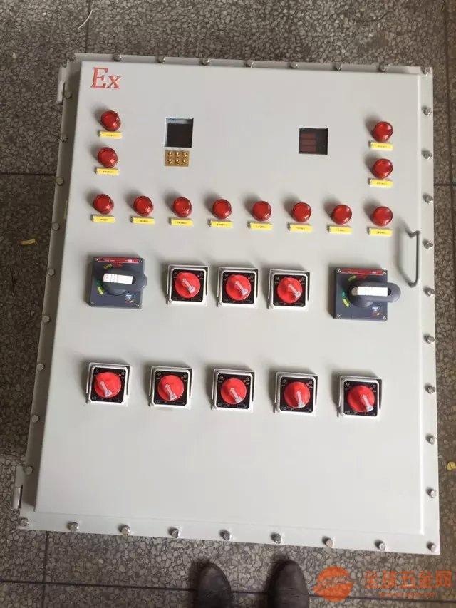 云南挂式防爆配电箱实物图品质保证
