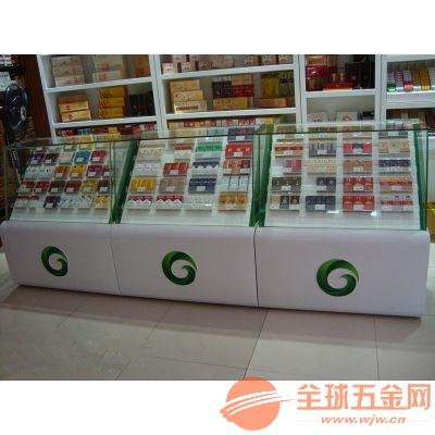广东烟柜展示柜台厂家 烟柜展示架制作