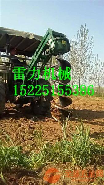 拖拉机配置的挖坑机