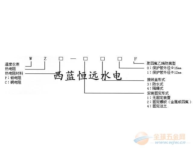 铂热电阻传感器wzp-200/231/269安徽火爆中国