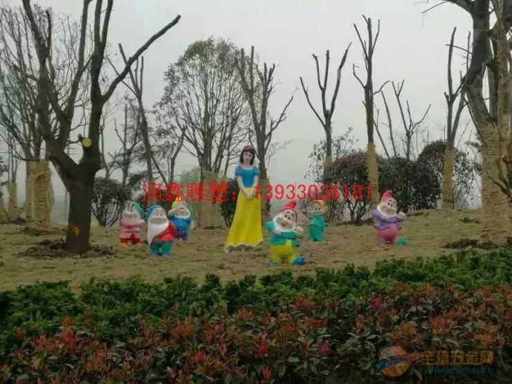黑龙江白雪公主不锈钢雕塑 鹤岗景观雕塑