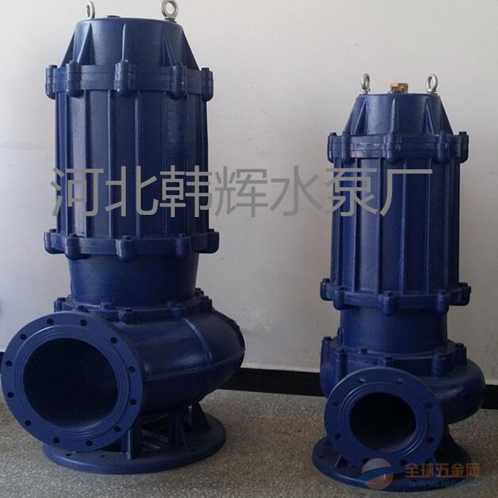 潜污泵安装 无堵塞潜水排污泵厂家