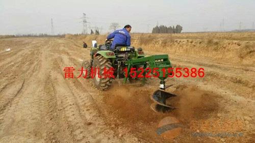 河南种树挖坑机雷力园林机器设备