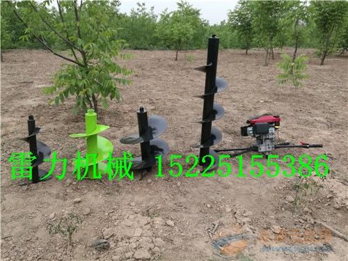 尼勒克县手提螺旋杆挖坑机工作效率说明