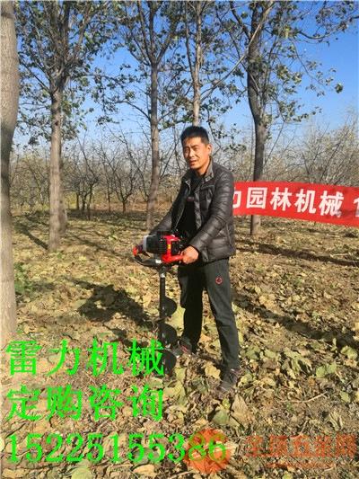 便携式挖坑机价格,小型地钻厂家优惠