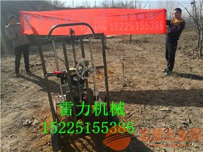 长汀县四冲程地钻挖坑机厂家直销价格便宜