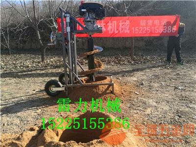 康乐县地钻挖坑机实用型