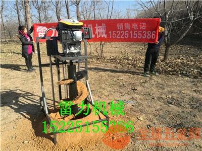 产销一体化的雷力小型挖坑机