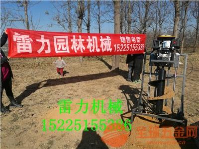 平和县大型种树打洞机单双人均可操作
