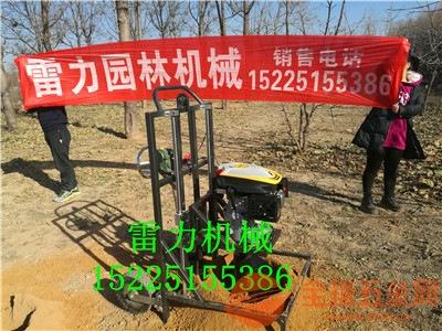 华安县手摇式地钻挖坑机轻便式土地钻