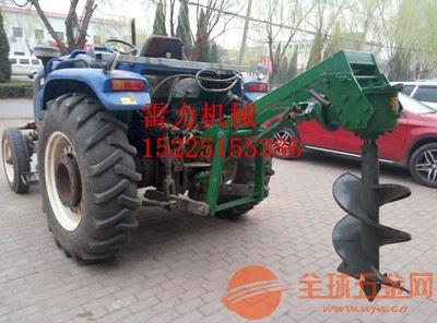 拖拉机带的土地钻坑机价格