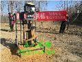 手推式电线杆挖坑机地面钻孔设备厂家