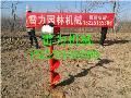 吴兴区小型栽树挖坑机快速栽植树效率高
