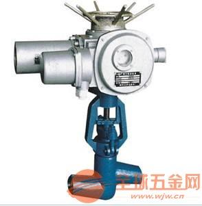 铬钼钢电动焊接截止阀